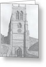 Rothwell Church Greeting Card by Michael  Dixon