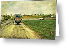 Route 716 Greeting Card by Kathy Jennings