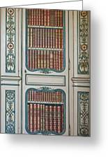 Royal Books Greeting Card by Nomad Art And  Design