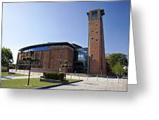 Royal Shakespeare Theatre Greeting Card by Jane Rix