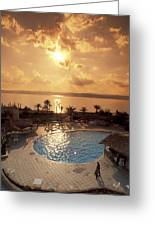 Royal Suite In The Dead Sea Spa Hotel Greeting Card by Richard Nowitz