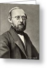 Rudolph Virchow, German Polymath Greeting Card by Photo Researchers