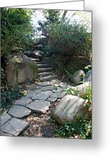 Rural Steps Greeting Card by Rob Hans