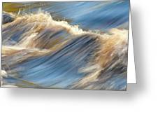 Rushing Waters Greeting Card by Carolyn Marshall