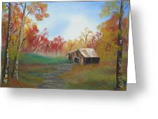 Rustic Greeting Card by Amity Traylor