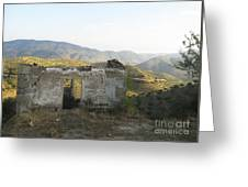 Rustic Scene Greeting Card by Arlene Carmel