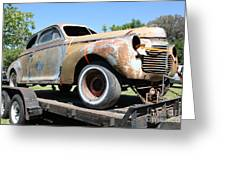 Rusty 1941 Chevrolet . 5d16211 Greeting Card by Wingsdomain Art and Photography