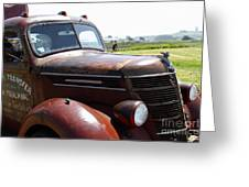 Rusty Old 1935 International Truck . 7d15509 Greeting Card by Wingsdomain Art and Photography