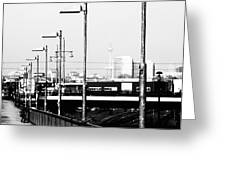 S-Bahn to Berlin Greeting Card by Falko Follert