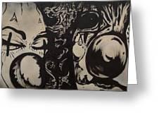 Sad Clowns Greeting Card by Travis Burns