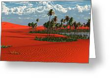 Sahara Greeting Card by Williem McWhorter