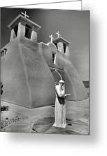 Saint Francis And San Francisco De Asis Church I Greeting Card by Steven Ainsworth