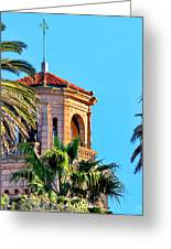 Saint James By The Sea Greeting Card by Russ Harris