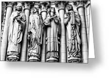 Saint John the Divine Greeting Card by Anne Raczkowski