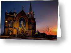 Saint Mary Of The Mount II Greeting Card by David Hahn