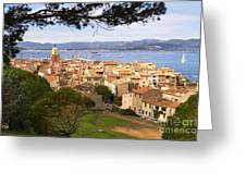Saint Tropez 1 Greeting Card by John James