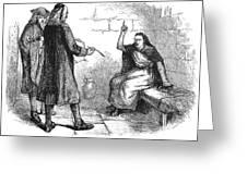 Salem Trials: Martha Corey Greeting Card by Granger