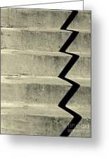 San Andreas Stairs Greeting Card by Joe Jake Pratt