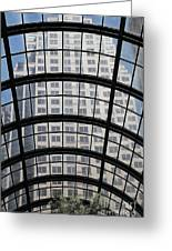 San Francisco Galleria - 5d17073 Greeting Card by Wingsdomain Art and Photography