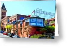 San Francisco Ghirardelli Chocolate Factory . 7d14093 Greeting Card by Wingsdomain Art and Photography