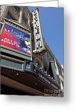 San Francisco Orpheum Theatre - 5d17990 Greeting Card by Wingsdomain Art and Photography