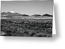 San Francisco Peaks Greeting Card by Gilbert Artiaga