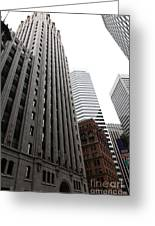 San Francisco Shell Building - 5d17860 Greeting Card by Wingsdomain Art and Photography