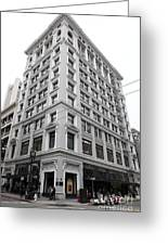 San Francisco Shreve And Company On Grant Street - 5d17918 Greeting Card by Wingsdomain Art and Photography