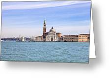 San Giorgio Maggiore Greeting Card by Joana Kruse