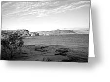 Sand Hollow River Greeting Card by Gilbert Artiaga