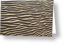 Sand Ripples Greeting Card by Photo Researchers, Inc.
