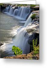 Sandstone Falls Wv Greeting Card by Sean Cupp