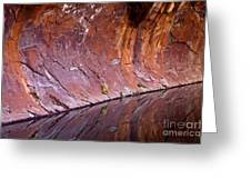 Sandstone Reality Greeting Card by Mike  Dawson