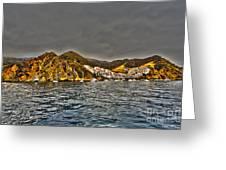 Santa Catalina Island Greeting Card by Cheryl Young