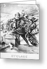 Santa Claus Greeting Card by Granger