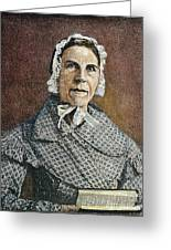 Sarah Moore Grimke Greeting Card by Granger