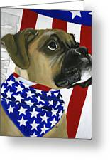 Sarg Greeting Card by Debbie Brown