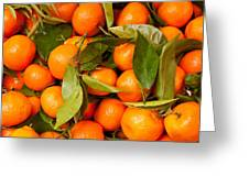 Satsumas Greeting Card by Tom Gowanlock