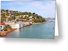 Sausalito California Greeting Card by Jack Schultz