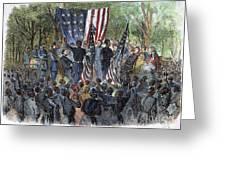 Sc: Emancipation, 1863 Greeting Card by Granger
