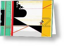 Scarface Greeting Card by Naxart Studio