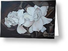 Scent Of Gardenias Greeting Card by Daniela Easter