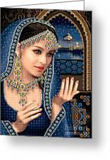 Scheherazade Greeting Card by Stoyanka Ivanova