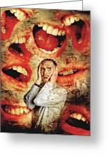 Schizophrenia Greeting Card by Tim Vernon, Lth Nhs Trust