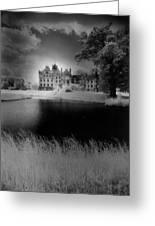 Schloss Basedow Greeting Card by Simon Marsden