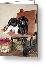 School Days Greeting Card by Nancy Patterson