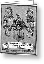 Schuyler Family: Arms Greeting Card by Granger