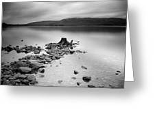 Scotland Loch Lomond Greeting Card by Nina Papiorek
