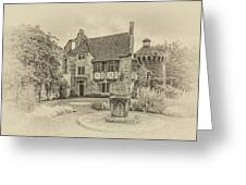 Scotney Castle Greeting Card by Chris Thaxter