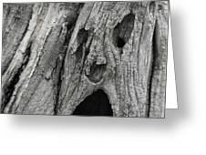 Scream Greeting Card by Odd Jeppesen